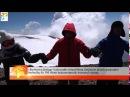 Ջահերով վերելքի անդամները Արարատ լեռան գագաթին ծածանել են 100 մետր երկարությամբ Եռագույնը