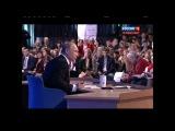 Большая пресс конференция Президента России Владимира Путина 18 декабря 2014 полная видеоверсия