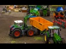 R C John Deere Fendt in Action Amazing RC Tractors at work Awesome Farmland SIKU 1 32 models