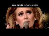 Make You Feel My Love (Por Adele, traducida al espa