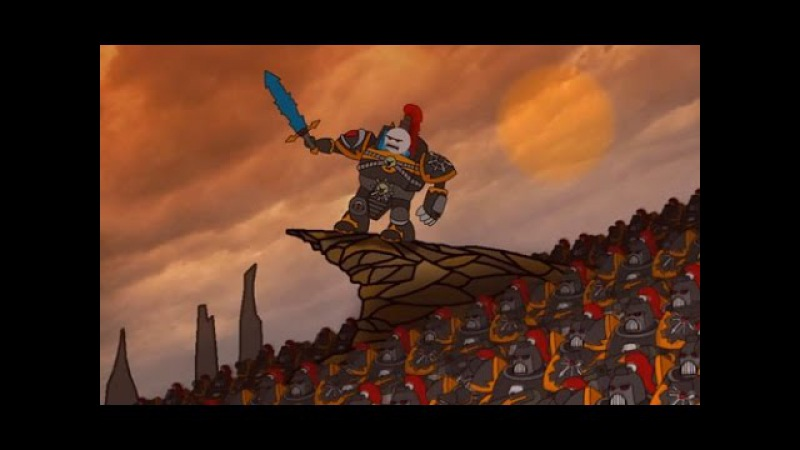 WH40K Animation: Abaddon «The Show Must Go On»