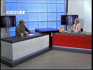 Инна Васильевна Королева в эфире Красноярского телевидения