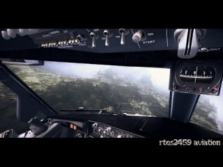 Flight Simulator X FSX HD Maxed Out Graphics 2015 / PMDG NGX landing!