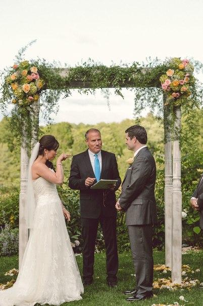 Выездная регистрация брака (фото)