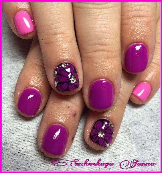 Фото ногти шеллак вконтакте