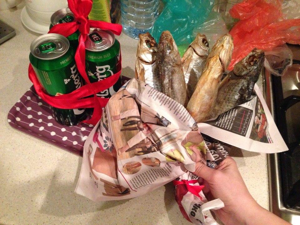 Пиво и рыба в подарок 47