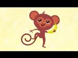 СБОРНИК 1 - Четыре песенки мультика для детей малышей вместе. Алфавит, Птички, Фрукты и Лево Право