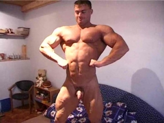 body adonis - Muscle Thomas home muscle naked show