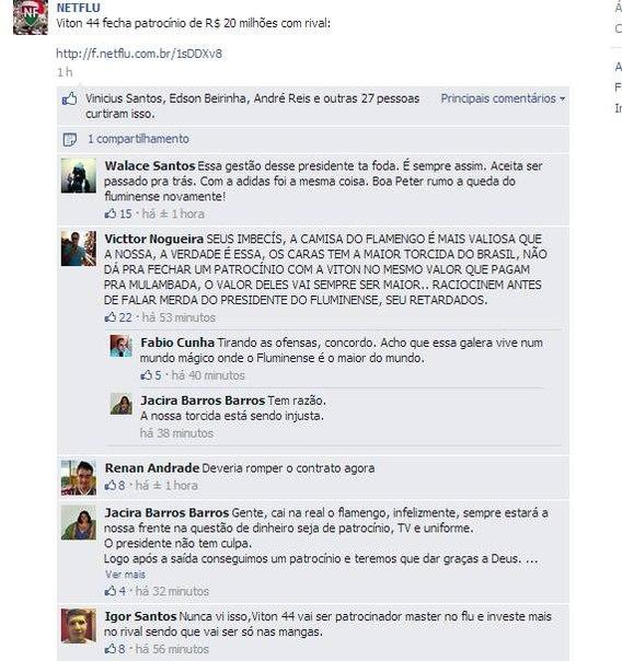b9990fd392 Viton 44 nega acerto com Clube de Regatas do Flamengo e diz que ...
