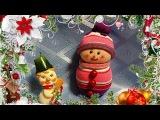 Снеговик своими руками (поделка из носков) #СНЕГОВИК СВОИМИ РУКАМИ
