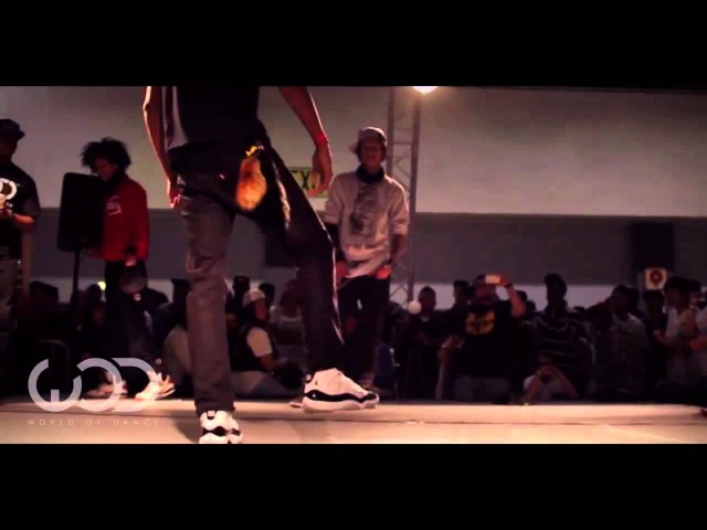 World of Dance LA 2012 Allstyles Battle: Les Twins Larry vs Smart Mark