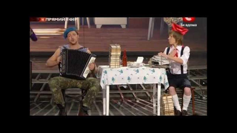 Х-фактор-2 Украина. Общая песня. 8 прямой эфир. 10.12.2011