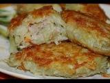Картофельные зразы с мясным фаршем. Рецепт.