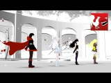 RWBY Volume 2 Opening Titles Animation Rooster Teeth