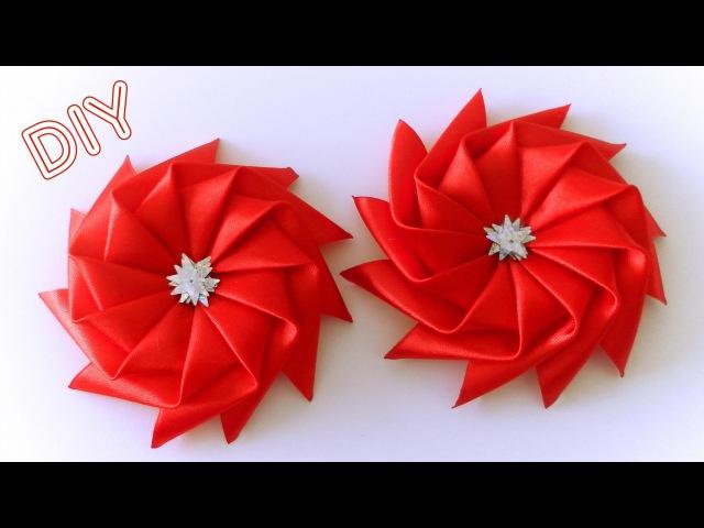 Бантик Звездочка из Ленты / Star Ribbon Bow Tutorial / ✿ NataliDoma