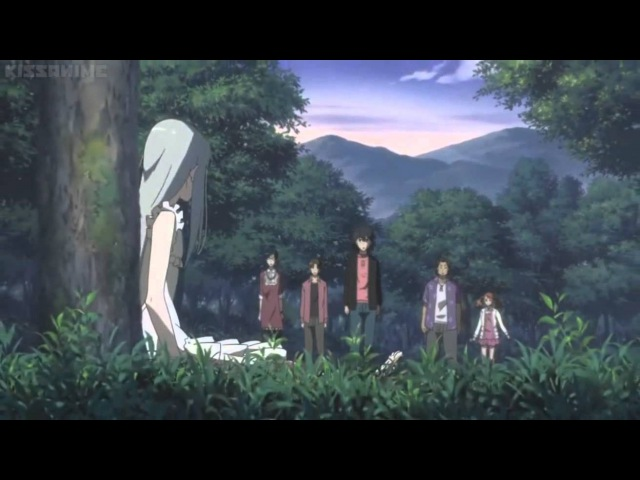 Anohana Final Scene Menma's point of view Saddest Anime Scene Ever