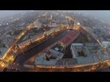 Никольский собор, канал Грибоедова, Петербург - с  высоты птичьего полета.