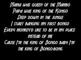 King Of The Bongo - Manu Chao - Lyrics