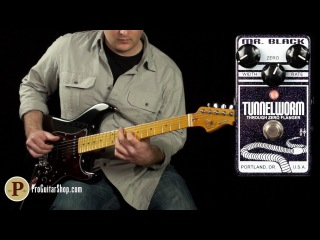 Mr. Black TunnelWorm Through-Zero Flanger by Jack Deville