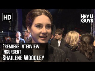 Shailene Woodley Interview - Insurgent World Premiere