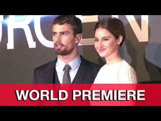 Insurgent World Premiere Red Carpet Highlights - Shailene Woodley, Theo James, Veronica Roth