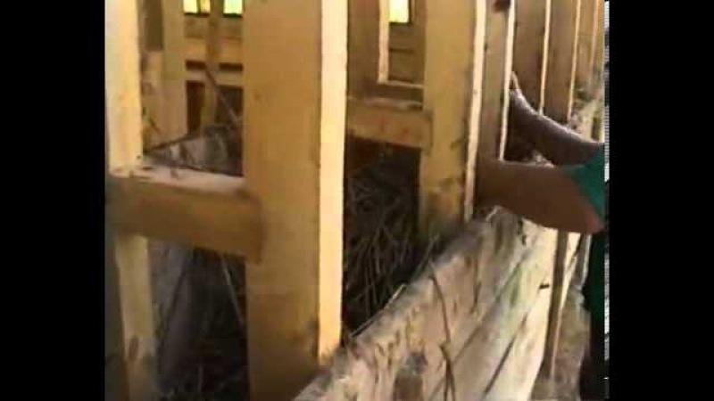 Строительство каркасного дома из самана на мелкозаглубленном фундаменте