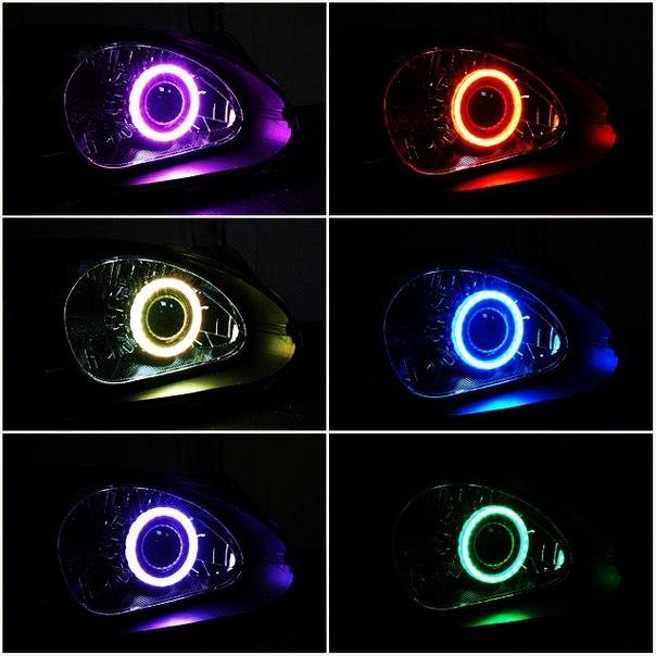 Daewoo Lanos + Morimoto H1 RGB