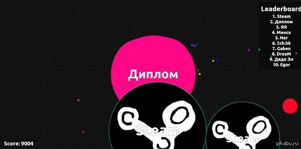 Agar.io или шарообразные войны!