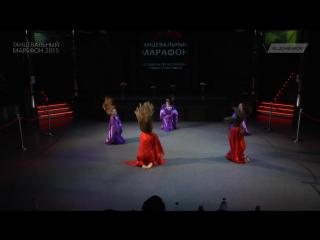 Групповой Фольклорный танец, школа восточного танца