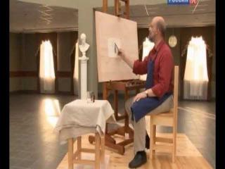 Сергей Андрияка - Рисуем стекло карандашом.