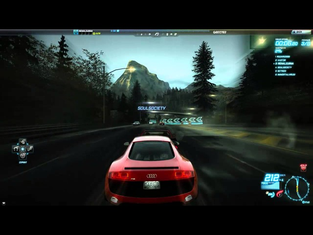NFS WORLD (NTL) DRAG RACING
