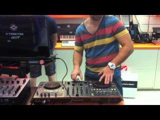 Dj Shock & Dj L-Brus scratching on Pioneer DDJ-T1