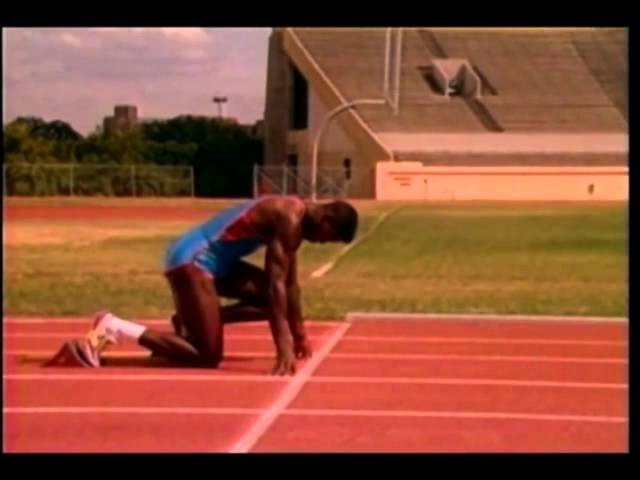 Tom Tellez and Carl Lewis on Sprinting