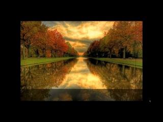 Красивая осень с нежной музыкой