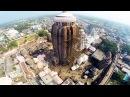 Puri Jagannath Temple Aerial View : Вид сверху на храм Джаганнатха в Пури