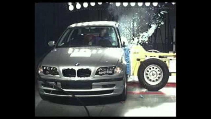 BMW 3 Series Euro NCAP crash test