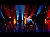 Tatiana Kundik Slack wire DVB S FRANCE2 HD Le plus grand cabaret du monde N160 10 05 2014