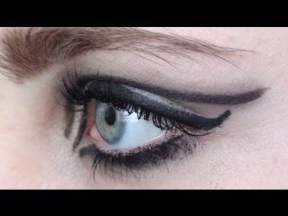 iconic eyeliner | edie sedgwick tutorial