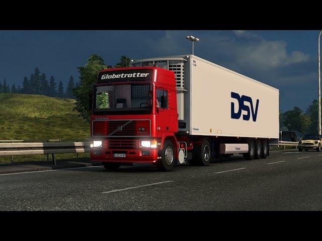 [ETS2 v1.18.1.3] Volvo F16 with 8 Interiors v1.1