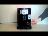 Пошаговое приготовление кофе на кофемашине  Delonghi ECAM 22.110