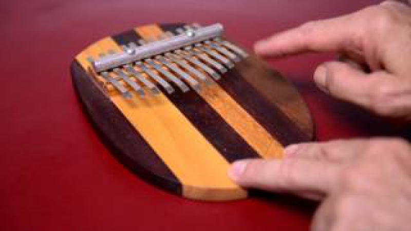 Kalimba for Beginners i e Jamie Kelty with Professor David Plakke
