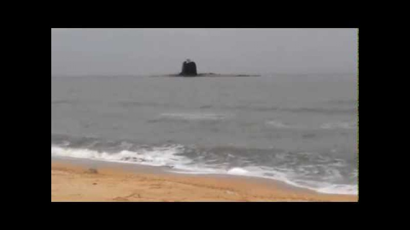 Извержение вулкана в Азовском море