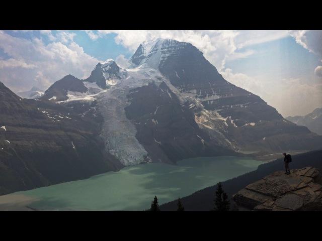 Berg Lake Trail, Mt Robson, BC, Canada in 4K (Ultra HD)