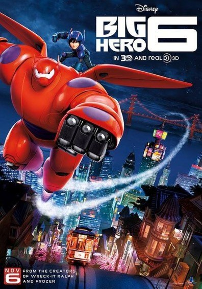 Galingasis 6 / Big Hero 6 (2014)