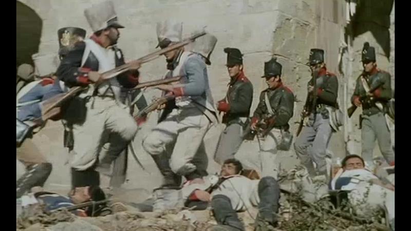 Неудачная атака французов (Приключения королевского стрелка Шарпа. Осада Шарпа)