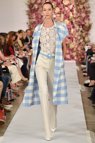 Oscar de la Renta. Spring 2015. Ready-to-Wear (6 фото) - картинка