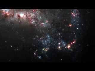 Вселенная глазами телескопов Hubble, Spitzer и Chandra X-Ray Observatory