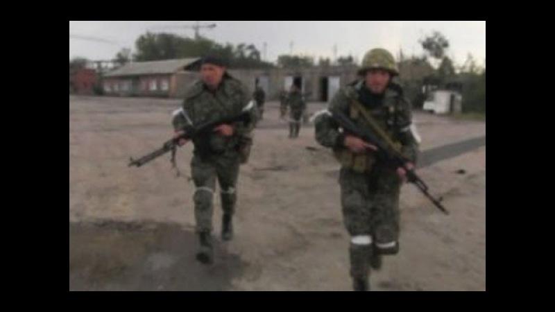 АТО Уличные Бои под снайперским обстрелом Никишино The War in Ukraine