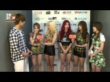 [VID] [150714] Girl's Day (걸스데이) Warm-up Time CUT @ THE SHOW