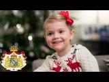 Рождественские поздравления от шведской принцессы Виктории, её мужа и доченьки